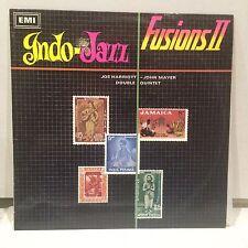 JOE HARRIOTT & JOHN MAYER - INDO - JAZZ FUSIONS II LP 1968 - OZ AUSSIE PRESS