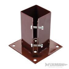 TS452 FIXMAN Bolt Down Post Shoe 75 x 75mm Building Fencing