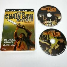 The Texas Chainsaw Massacre (2-Dvd Set, Ultimate Steelbook Edition) Tested
