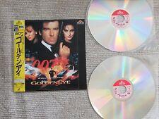 Golden Eye James Bond 007 Laserdisc Japan Insert Booklet Obi