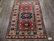 4x6ft. Handwoven Turkish Melas Wool Rug