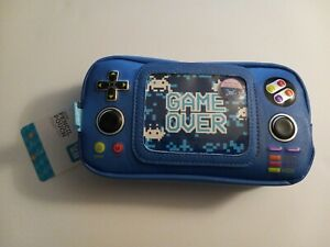 New Handheld Video Game Controller Shape Pen+Game Pencil Pouch
