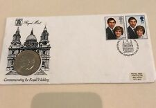 1981 Enveloped Original Royal Mint Royal Wedding Princess Dianna Prince Charles
