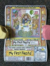 My First Fiesta Child's Tea Set Demitasse Homer Laughlin Opened for Photos