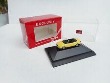 1:87 Herpa Exclusiv  Audi 80 Cabriolet In Yellow   NEU OVP