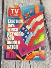 Vtg 1988 Nov 5-11 TV Guide - Election Day Which Network You Should Watch Cover