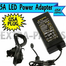 AC100-240V To DC 12V 5A Power Supply Adapter with US Plug For Light LED Strip