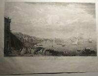 Coppia Incisioni su rame all'acquaforte da Saint Non 1836 (P467) Come da foto