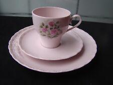 Gedeck Teller Tasse Unterteller Hutschenreuther Porcelaine Rose mit Rosendekor
