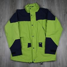 Vintage Mens Hi Tec Waterproof Ventflex Outdoor Walking Jacket Hooded L RARE 90s