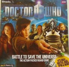 BBC DR WHO BATTLE TO SAVE THE UNIVERSE ACTION PACKED BOARD GAME NEW SEALED