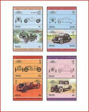 NEV8509 Old cars 8 stamps