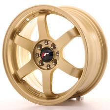 "Un Cerchio in Lega Japan Racing JR32 18/"" x 8.5/"" ET 38 5x100 Oro Gold"