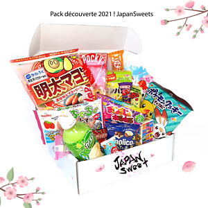 Pack discovery Japanese sweet and snacks 20 pcs
