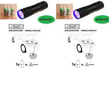 UV Dye & Torch Kit Leak Detection Dye Coolant Cooling Antifreeze System 30ml