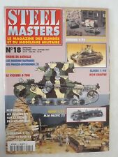 Steel Masters Magazine - No 18 December 1996-January 1997 FRENCH TEXT