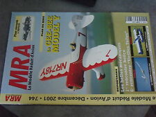 $$v Revue MRA N°744 Plan encarte Aquilon  Gee-Bee Model Y  Cupidon  Tango 3