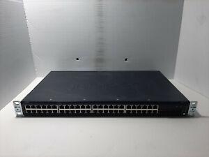 Juniper EX2200-48p-4g 48 ports gigabit 4x SFP+ Managed switch PoE