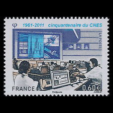 France 2011 - 50th Anniversary of CNES Space - Sc 4096 MNH