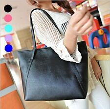 Women Girl Handbag Shoulder Large Tote Purse Pu Leather Hobo Bag Satchel Handbag