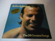 DOUBLE 33 TOURS / 2 LP--JULIO IGLESIAS--THE 24 GREATEST SONGS / EN ESPAGNOL