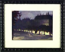 GROM-ROTTMAYER, HERMANN (1877 - 1953), ÖLBILD PARIS BOULEVARD ST GERMAIN