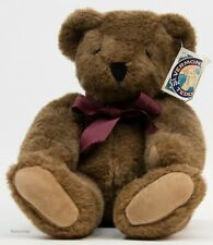 Vermont Teddy Bear Company 1992 Brown Jointed Stuffed Bear