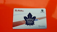 Tim Hortons Toronto Maple Leafs Gift Card New Logo
