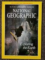 National Geographic magazine November 1988 No Map, Exploration, Himalaya, Mars