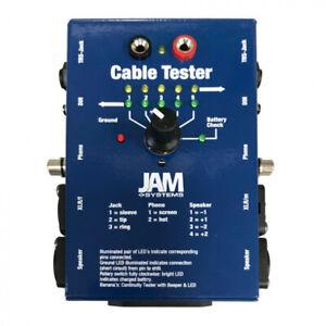 JAM Multi-Function Audio Cable Tester - XLR, TRS,RCA, Speaker