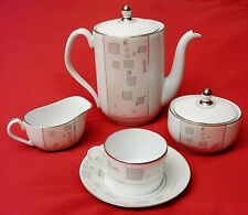 Haviland Porcelain Limoges - Odysseus Pattern Tea Set