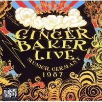 GINGER BAKER - LIVE IN MUNICH 1987  CD NEW!