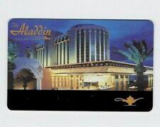 ALADDIN Las Vegas Casino Hotel SLOT CARD / Players Club Card - BLANK  / Unused