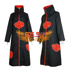 New Naruto Akatsuki Uchiha Itachi Animal Naraka Asura Deva Cloak Cosplay Costume