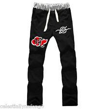Naruto Uchiha Itachi Akatsuki Cotton Sweatpants Cosplay Costume Men Casual Pants