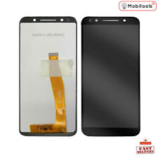 """Black Complete LCD Display Screen + Digitizer for Alcatel OneTouch 3L 5034 5.5"""""""