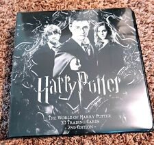 The World of Harry Potter trading card binder - Artbox SDCC exclusive