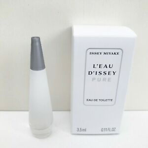 Issey Miyake L'Eau D'Issey Pure Eau de Toilette mini, 3.5ml, Brand New in Box!