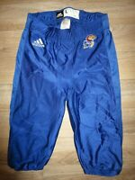 Kansas Jayhawks Football Team NCAA adidas Game used Worn Pants