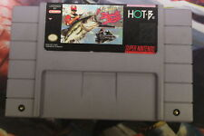 Super Black Bass, SNES Tested USED