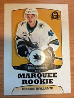O-Pee-Chee 2018-2019 RETRO ANTTI SUOMELA MARQUEE ROOKIE HOCKEY CARD #644