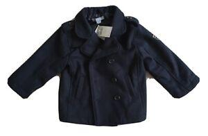 Boy 2yrs NEW PUMPKIN PATCH NAVY Duffle Coat