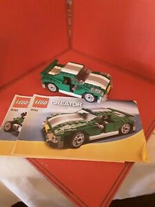 LEGO CREATOR 6743 SPORTS CAR RACING CAR BUGGY COMPLETE