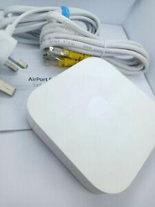 Apple Airport Express 2 Port Wireless Router Access Point A1392 MC414B/A 2nd Gen