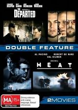 The Departed / HEAT (DVD, 2010 release, 2-Disc Set)