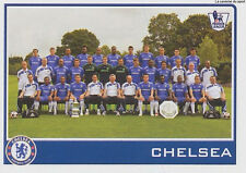 N°130 CHELSEA.FC  TEAM Premier League 2009-2010 TOPPS STICKER VIGNETTE