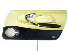 PORSCHE 911 996 Tür Verkleidung Leder Savannabeige Wurzelholz rechts