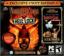 VAMPIRE SAGA WELCOME TO HELL LOCK UNCUT EDITION Hidden Object PC Game NEW +Bonus