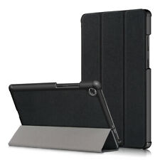 Case for Lenovo Tab M8 HD TB-8505F Tri-Fold PU Leather Flip Stand Cover Shell