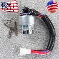 Ignition Switch Ignition Lock TC020-31822 TC02031822 With Two Keys For Kubota